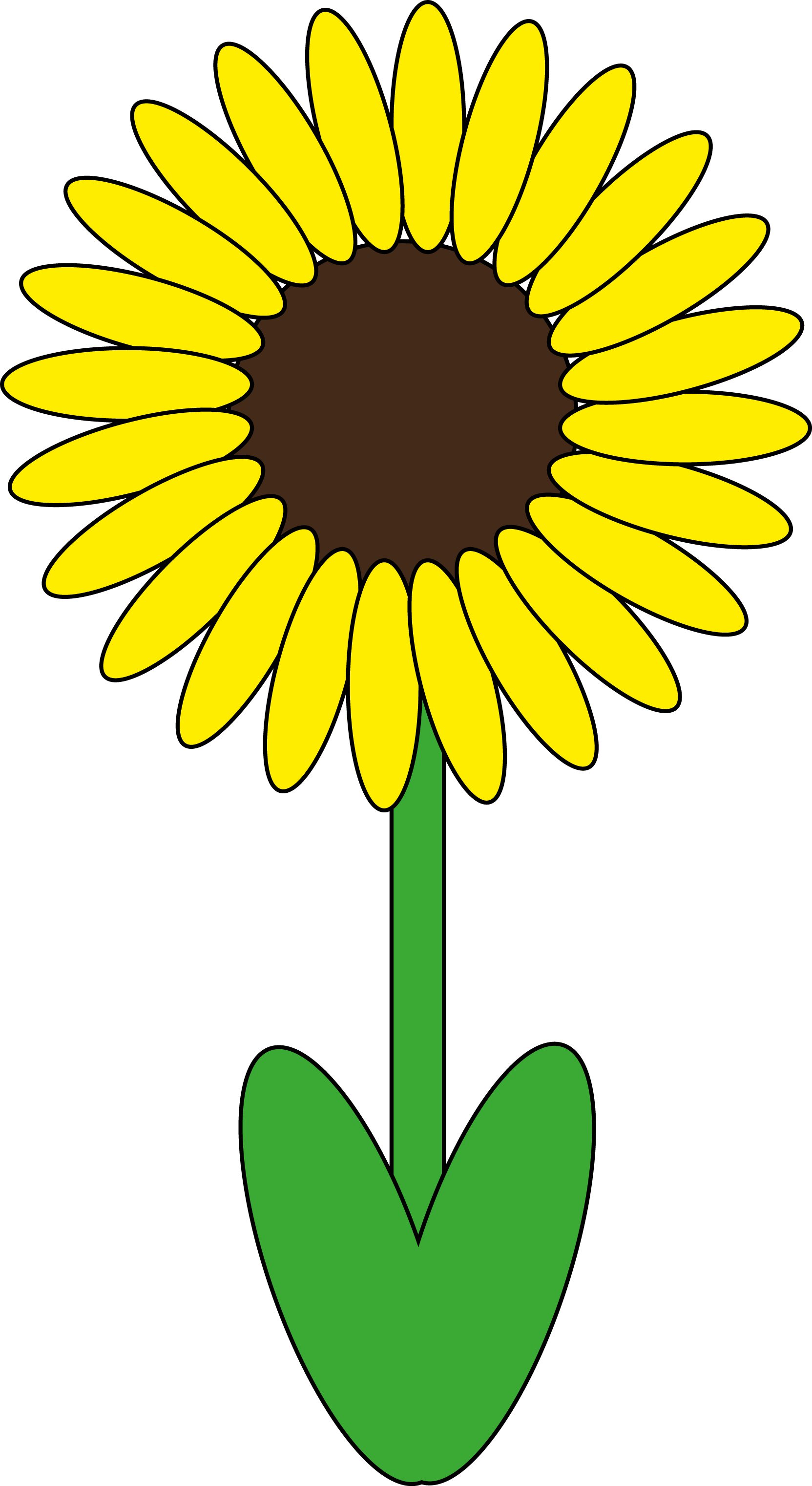 Daisy clipart sunflower. Made by kdp pinterest
