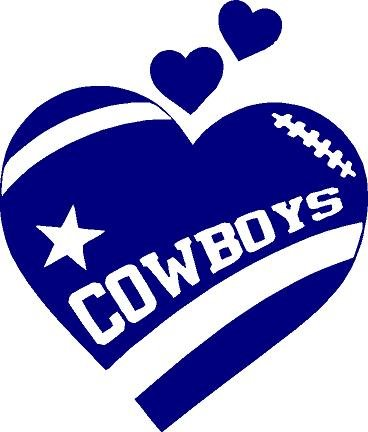 Amazon com texas heart. Dallas cowboys clipart svg black and white library