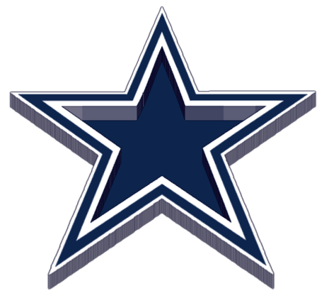 Dallas cowboys clipart header. Everything about all logos