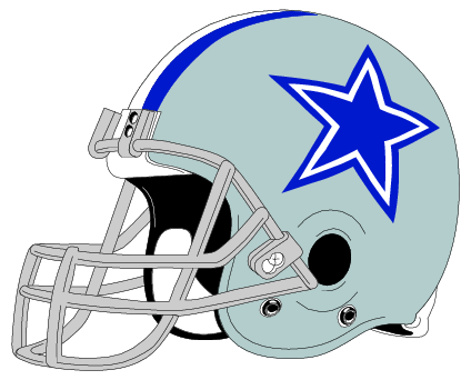 Clip art free library. Dallas cowboys clipart helment picture library