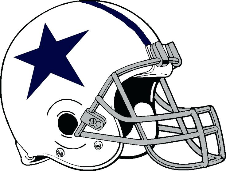 Dallas cowboys clipart helment. Logo drawing at getdrawings