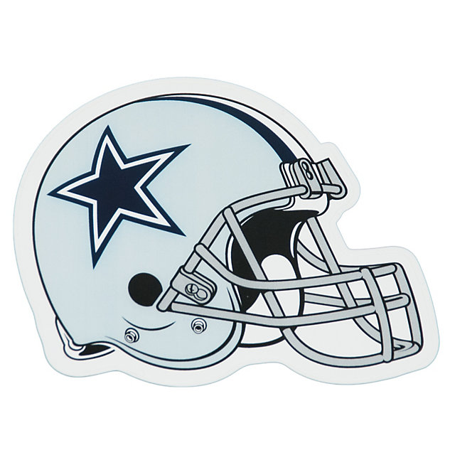 Dallas cowboys clipart helment. Helmet decal inch automotive