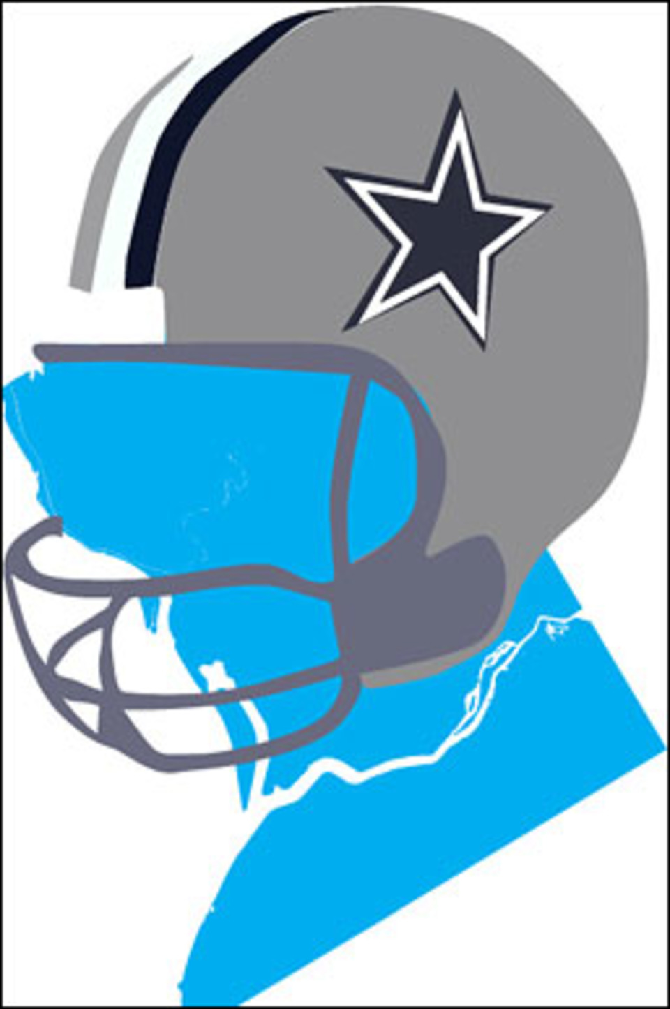 Dallas cowboys clipart helmet. At getdrawings com free