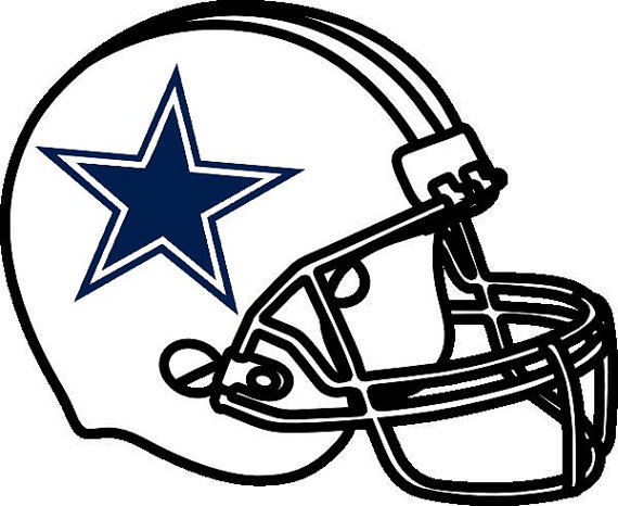 Dallas cowboys clipart helmet. Nfl football team logo
