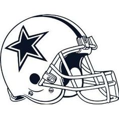 Dallas cowboys clipart helmet. Free printable football templates