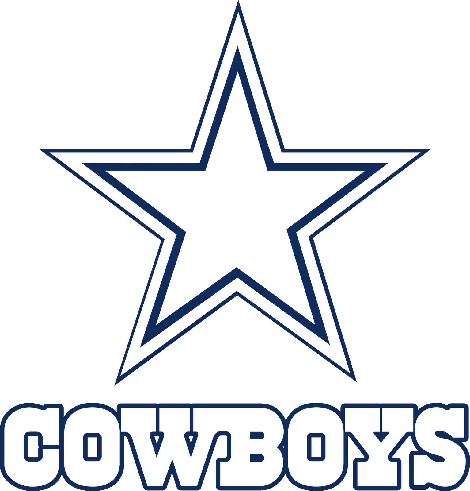 Dallas cowboys clipart painting. Texans logo drawing at