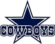 Dallas cowboys clipart painting. Wall decal ebay art