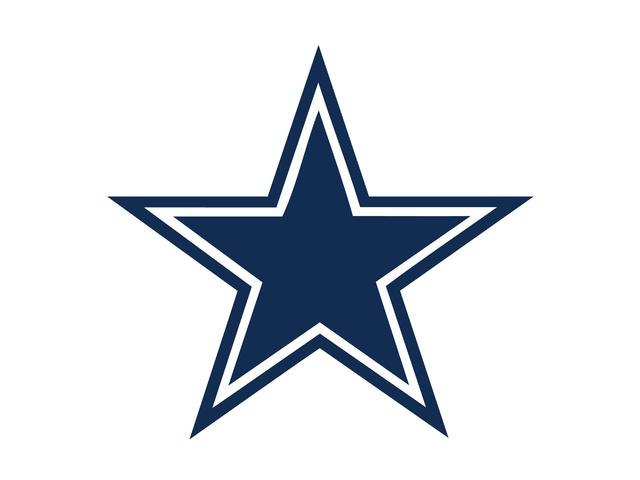 dallas cowboys clipart star