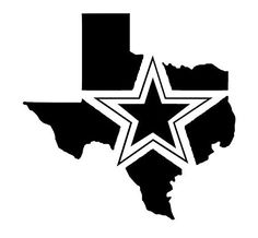 Dallas cowboys clipart sticker. Nfl star with font