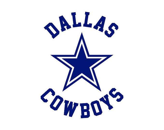 Dallas cowboys clipart svg. Silhouette at getdrawings com