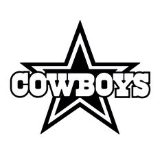 Dallas cowboys clipart svg. Crafting with meek silhouettes