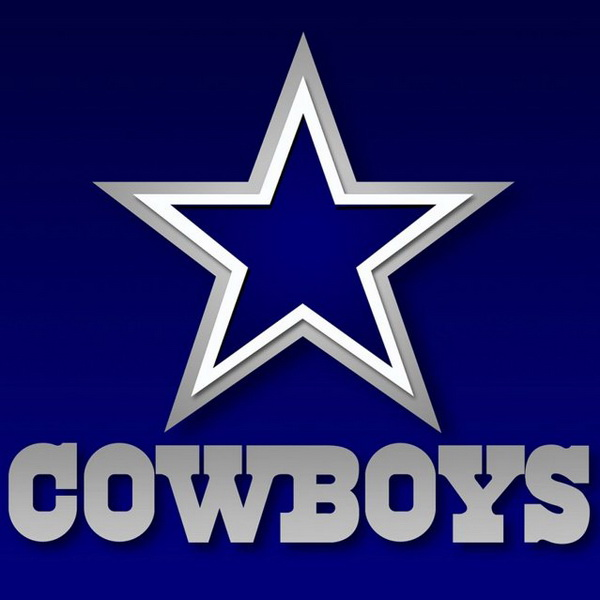 Dallas cowboys clipart text. Font and logo about