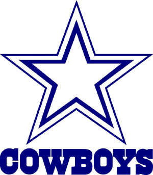 Dallas cowboys clipart text. Billigakontaktlinser info mowerpartszonecom knoxville
