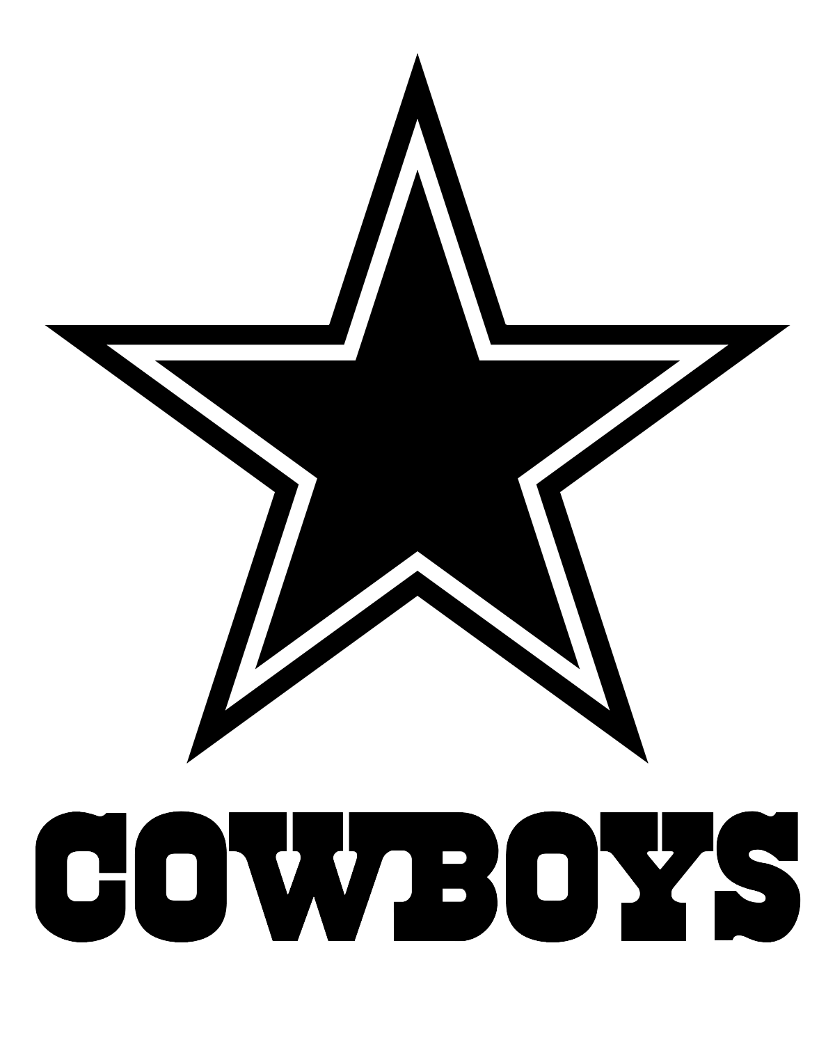 Dallas cowboys clipart text. Drawing at getdrawings com