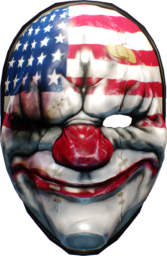 Dallas mask png. Happy new year overkill