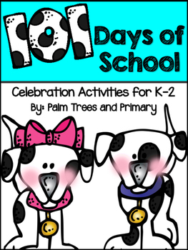 st of school. Dalmatian clipart 101st day png stock