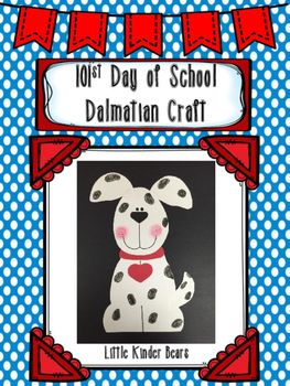 st of school. Dalmatian clipart 101st day free stock