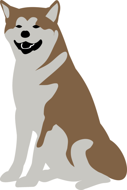 Dalmatian clipart puppy dog tail. Breed shiba inu alaskan