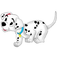 Dalmatian clipart school. Dalmatians dog bone