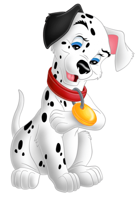 Dalmatian clipart two dog. Download cute lucky dalmatians