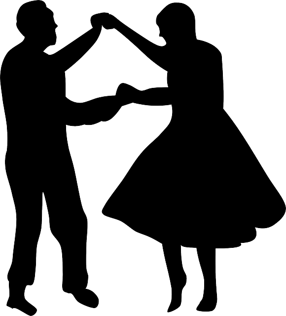 Dance clip art png. Ballroom silhouette at getdrawings
