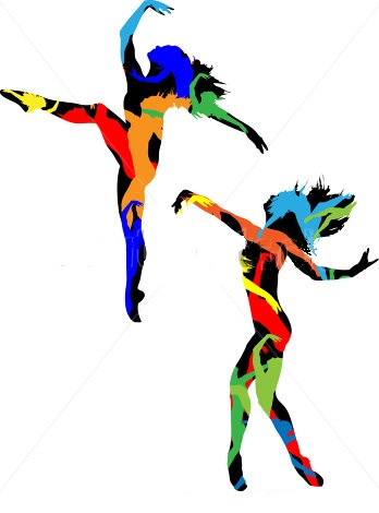 dance clipart beach