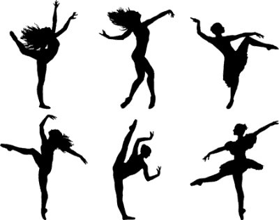 Dance clipart dance team svg library stock
