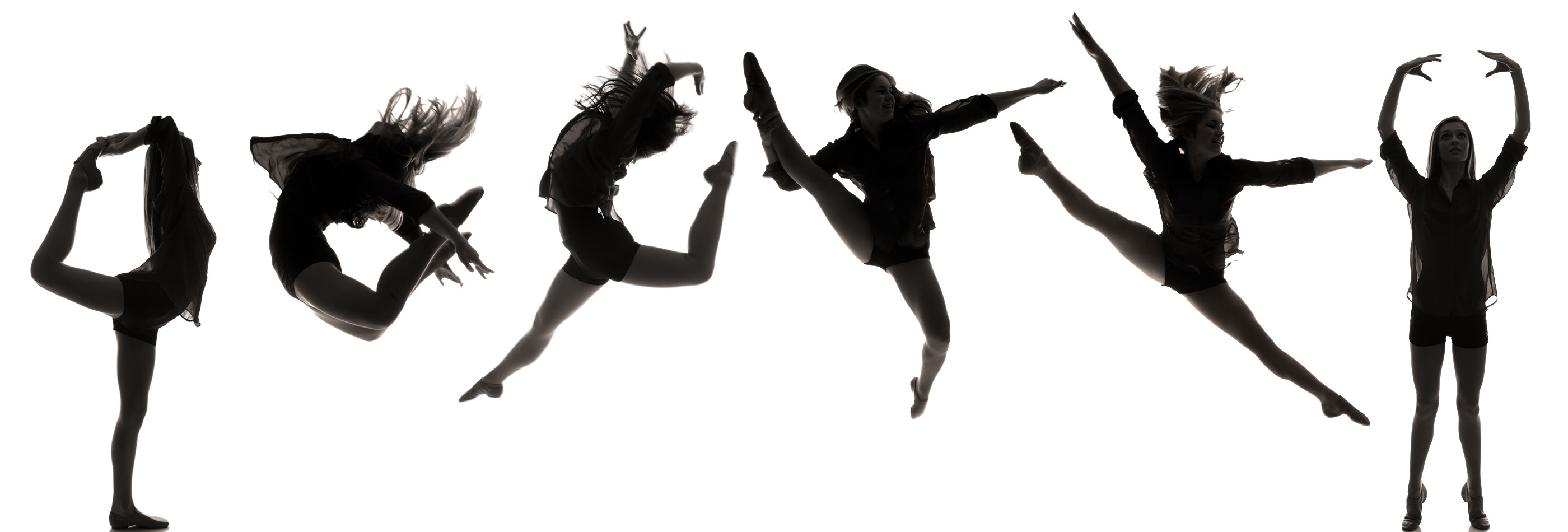 Dance clipart dance team. Silhouette at getdrawings com
