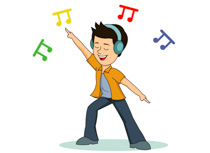 dance clipart dancing boy