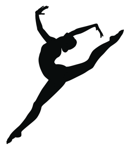 Your out heights herald. Dance clipart heart clip black and white