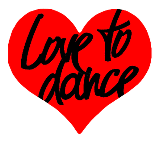 dance clipart heart