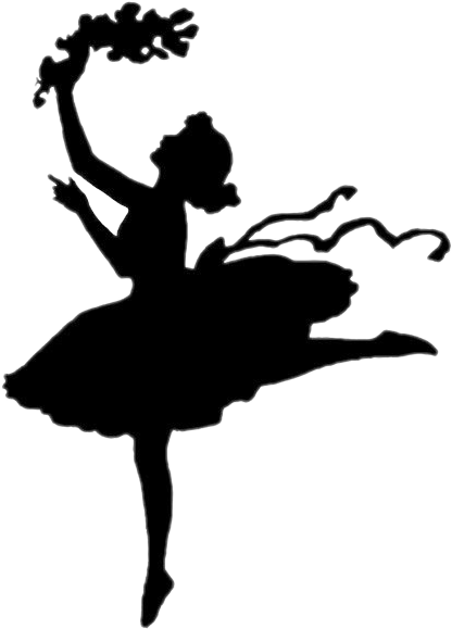 Silhouette dance ballet report. Dancing clipart shadow png download