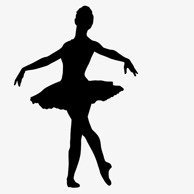 Ballet woman png image. Dancing clipart shadow banner