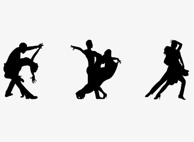 Shadows png image and. Dance clipart shadow clipart black and white