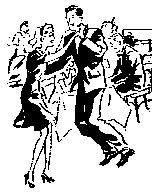 Best the art of. Dance clipart vintage image royalty free library