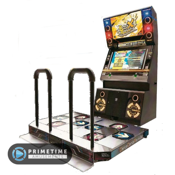 Dance dance revolution png. X primetime amusements ddr