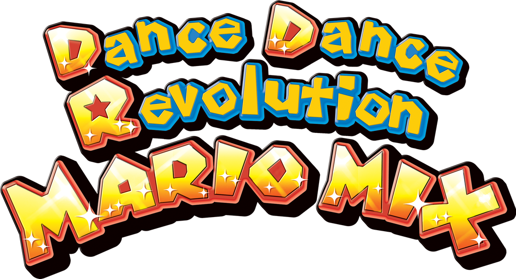Dance dance revolution logo png. Mario mix by ringostarr