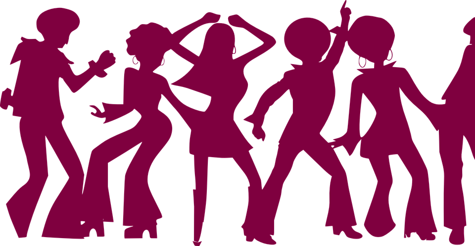 Group vector youth. Dance party transparent png