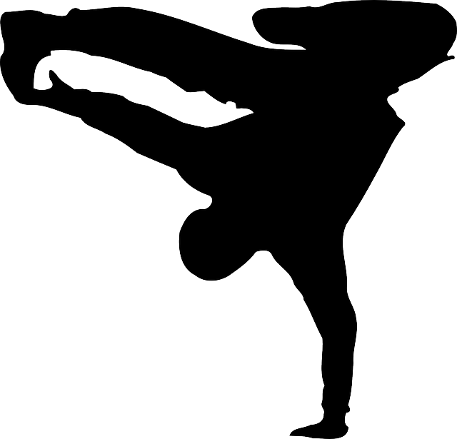 Dance silhouette png. Break transparent stickpng
