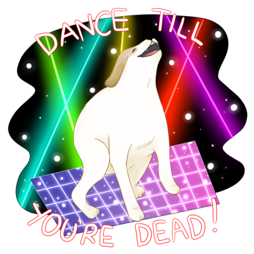 dance till your dead dog png