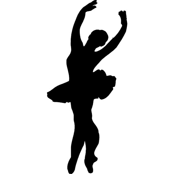 Dancer clipart. Free dancers silhouette at