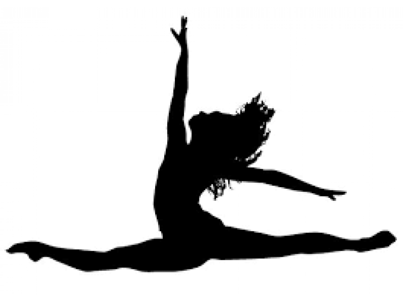 Dancer clipart. Silhouette at getdrawings com