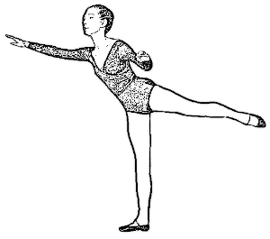 Dancer clipart arabesque. Recreation dance png html