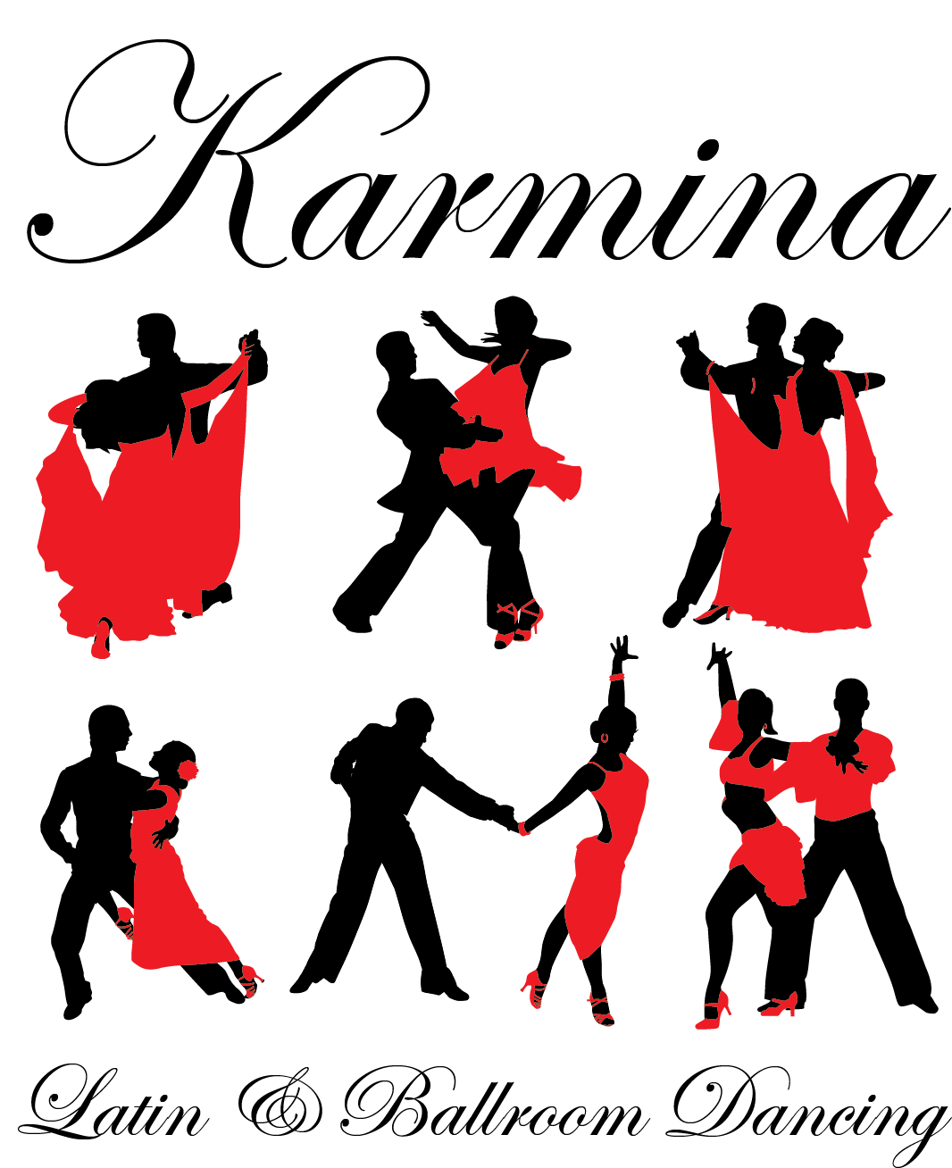 Dancer clipart ballroom dance. Karmina latin dancing