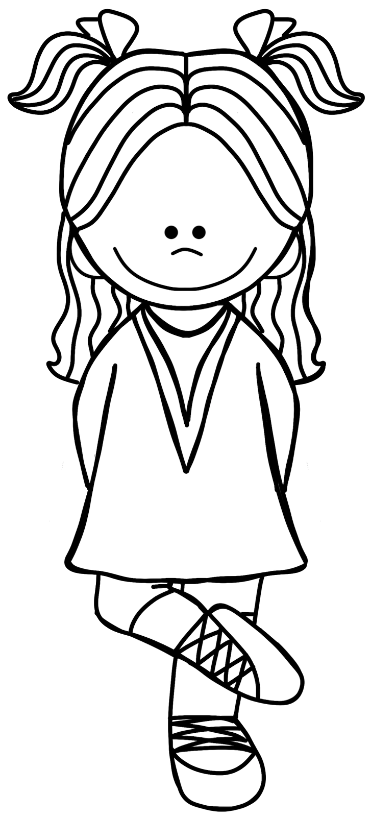 Dancer clipart black and white. Dancing kid dance clip