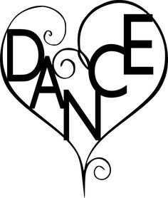 Dance line silhouette at. Dancer clipart danceline clipart library download