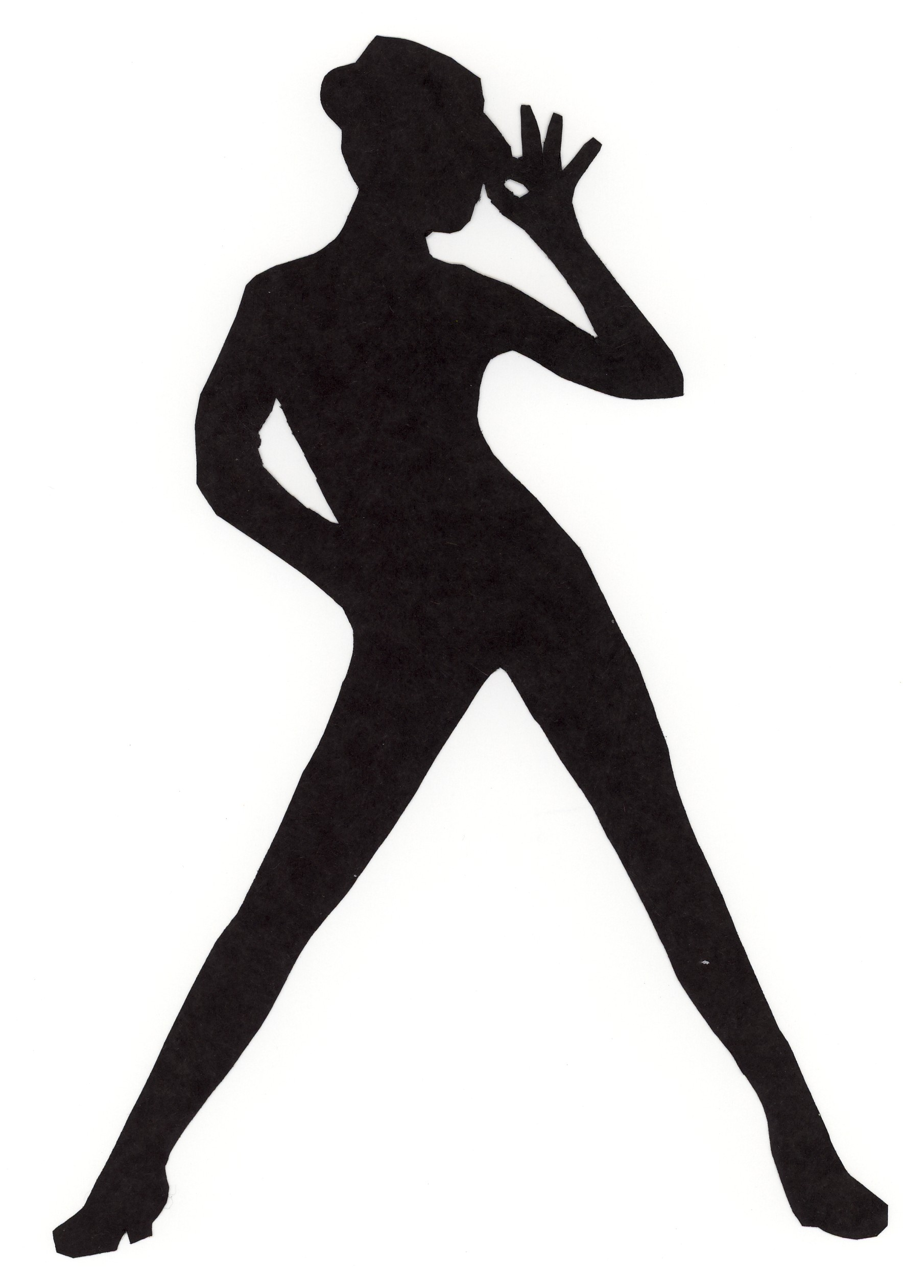 Dance line silhouette at. Dancer clipart danceline clip freeuse stock