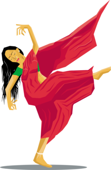 India clipart dancer. Ballet drawing breakdancing free