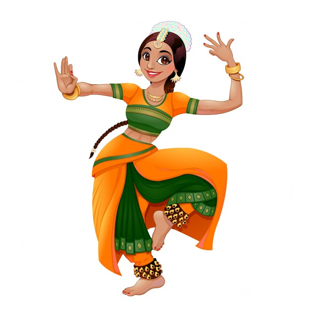 Indian dance at getdrawings. Dancer clipart female dancer picture freeuse library