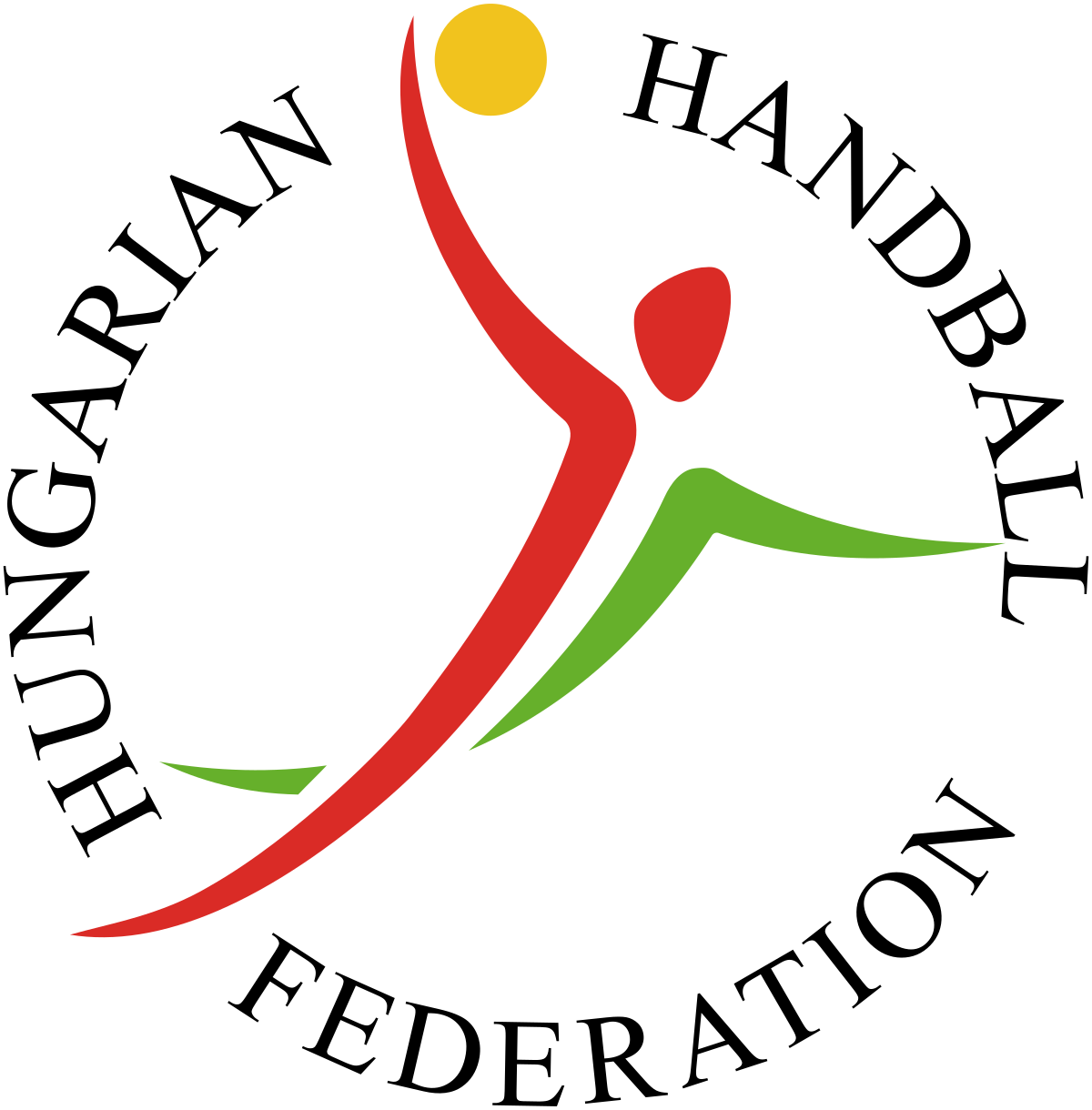 Dancer clipart hungarian. Handball federation wikipedia